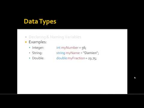Data Types C# - common language runtime types, nominal storage allocation, and value range