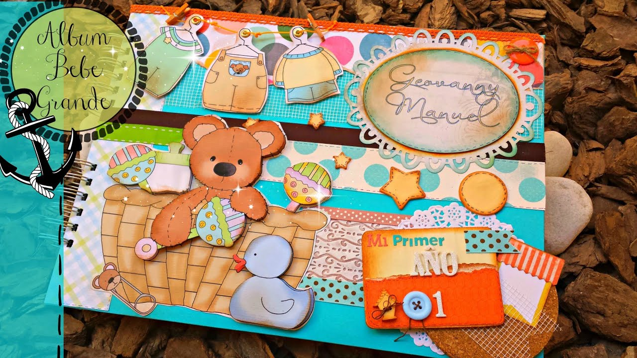 Album de bebe ideas de decoracion de hojas youtube - Ideas decoracion bebe ...