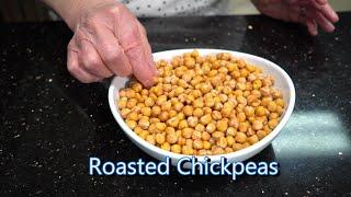 Italian Grandma Makes Roasted Chickpeas - Snack