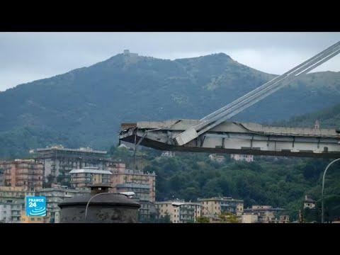 ماذا عن تصميم وتنفيذ جسر موراندي الذي انهار في جنوى الإيطالية؟  - نشر قبل 1 ساعة