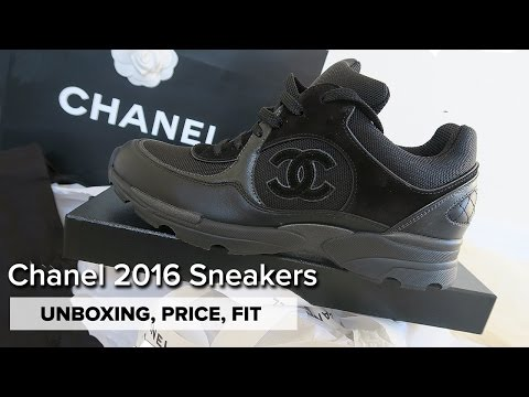 UNBOXING | Chanel Trainers Spring 2016