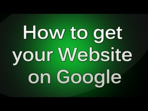How to get your Website on Google Search Engine