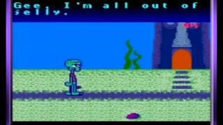 SpongeBob SquarePants: Legend of the Lost Spatula Gameplay Part 1/2 (GBC, 2001)