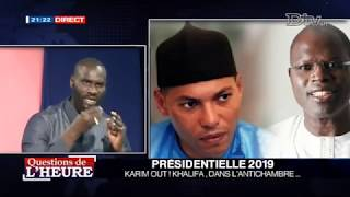 QUESTION DE LHEURE PRESIDENTIELLE 2019 KARIM OUT KHALIFA DANS L ANTICHAMBRE 2018-07-04