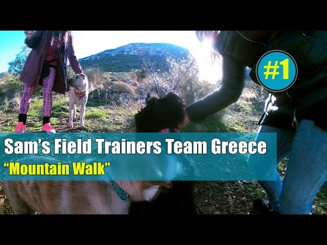 Sam's Field Trainers Team Greece - Mountain Walk  #1
