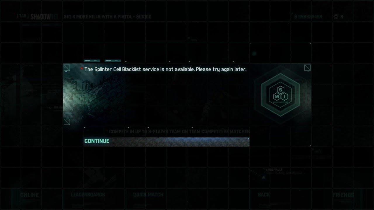 Splinter Cell Conviction Co op Matchmaking méthodes de datation organique