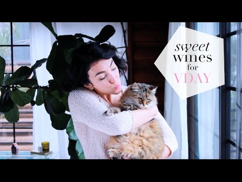 wine article Sweet Wines for Valentines Day and Ms Poose the Cat