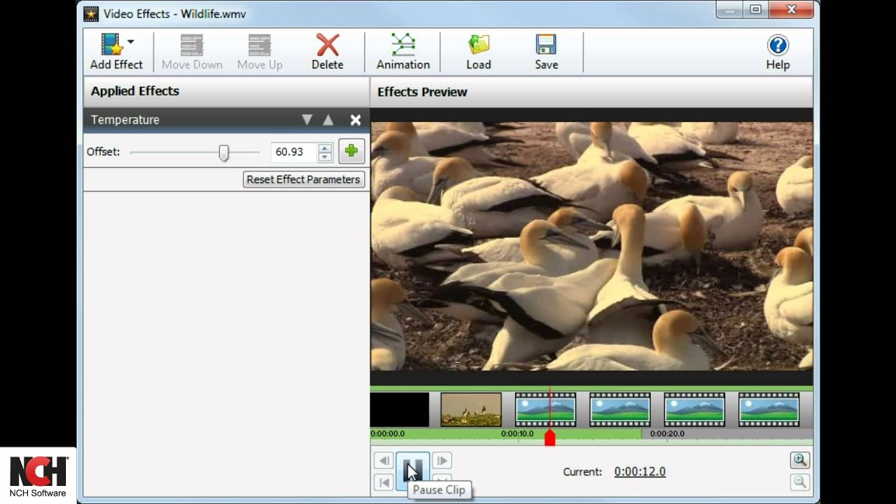 VideoPad Video Editing Software | How to Add Effects