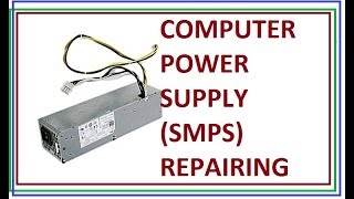 Repairing of Desktop SMPS ATX power supply how to basics by innovative ideas