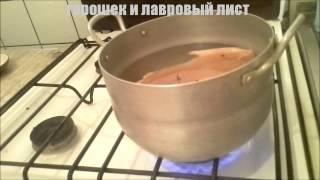 Рецепт финской ухи с форелью и сливками
