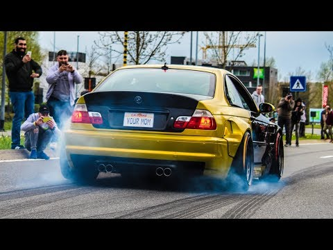 Modified cars & Supercars leaving a Carshow | GR8-ICS 2018