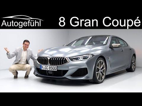 BMW 8 Series Gran Coupé M850i REVIEW Exterior Interior - Autogefühl