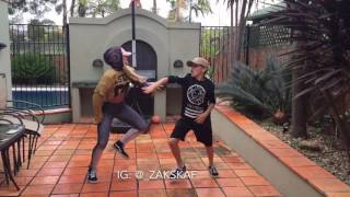 tz anthem challenge viral video brother and sister juju on that beat