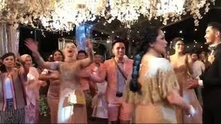Keren...nagita Slavina Ngedance Dan Nyanyi Di Pernikahan Syahnaz