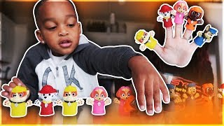 FAMILY FINGER SONG WITH PAW PATROL