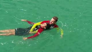 Surf Life Saving Wales rescue techniques