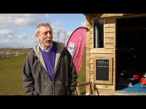 Apples and Snakes - Interview with Michael Rosen for SPOKE projects in the Olympic Park 2014