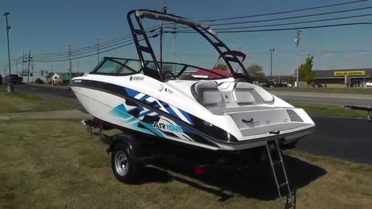 2016 yamaha ar192 for sale at lodder 39 s marine youtube