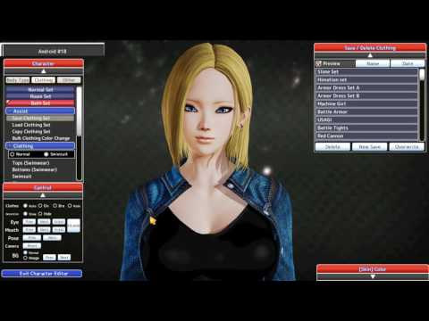 Android 18 - Honey Select Card (Character Mod)