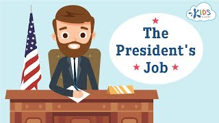 President of United States Job | Candidates and Responsibility | Kids Academy