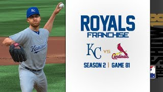 MLB The Show 18: Royals Franchise @ Cardinals [G81, S2]