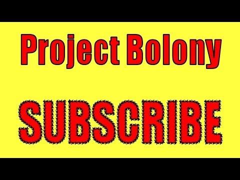 Project Bolony - Channel Trailer - Narrow Spectrum