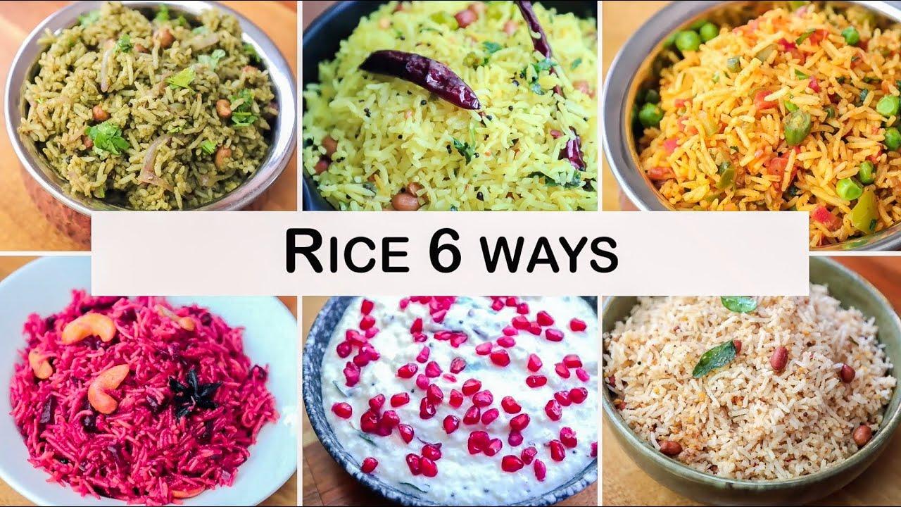 Rice Recipes - Quick Rice Recipes