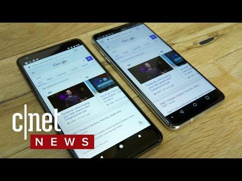 Google Pixel 2 XL screen issues (CNET News)