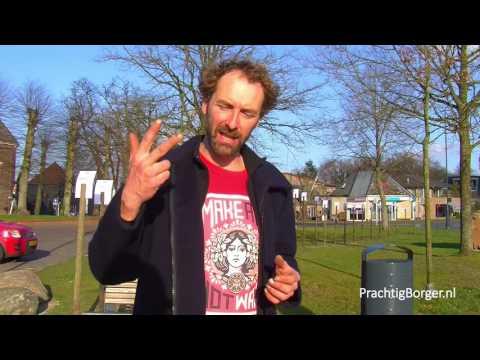 Interview met kunstenaar Merijn Vrij over het Haikuproject in Borger