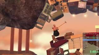 Getting Over It (with Bennett Foddy) speedrun, 6:37.331s