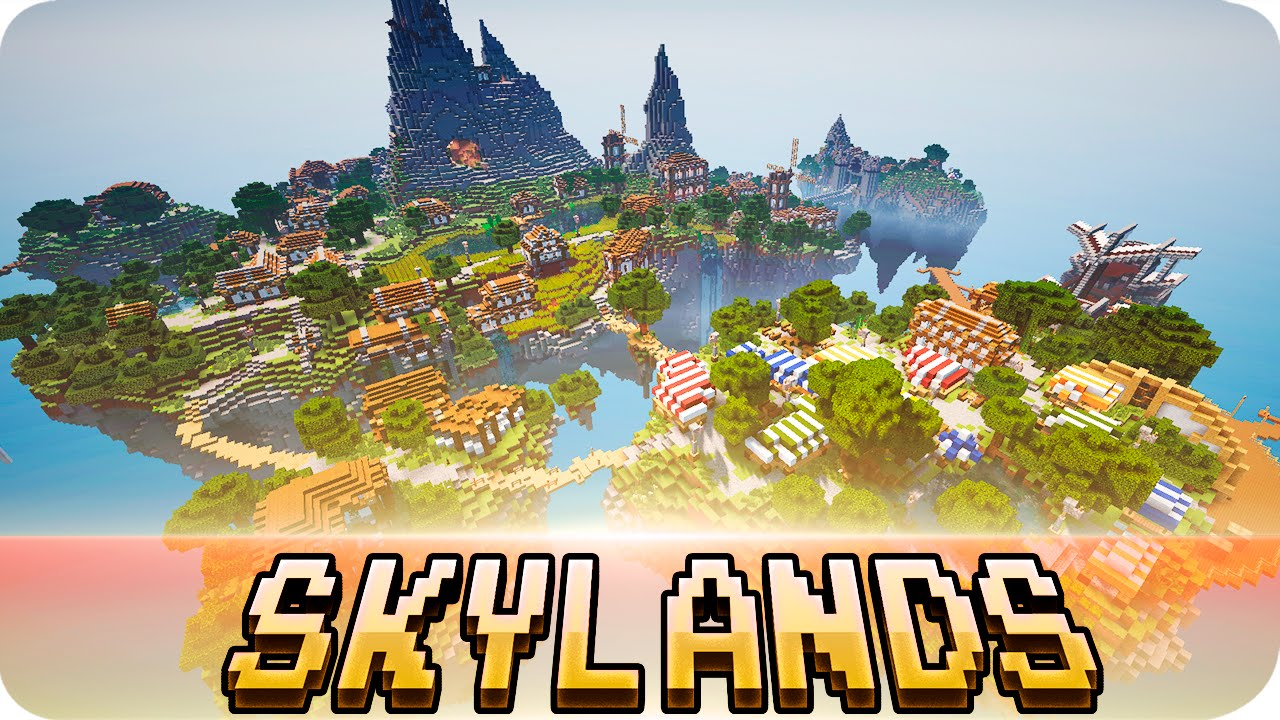 Minecraft skylands floating island map w download youtube gumiabroncs Image collections