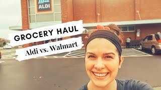 ALDI VS. WALMART: ALDI GROCERY SHOPPING: SAVING ON GROCERIES