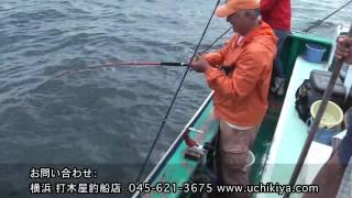 マダイ釣り(エビシャクリ) 東京湾  横浜・ 打木屋釣船店 2009/9/21