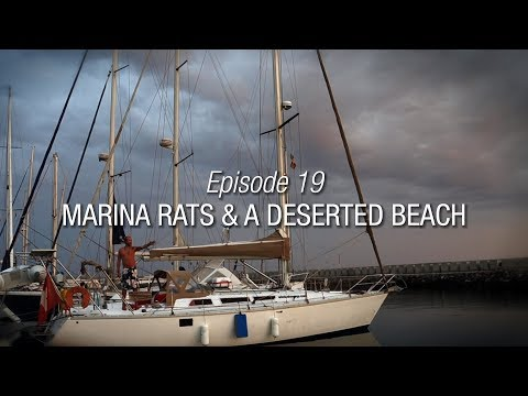 Winded Voyage 3 | Episode 19 | Marina Rats And A Deserted Beach