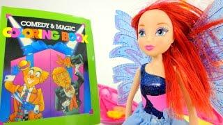 Видео для девочек. Феи Винкс и волшебная книга