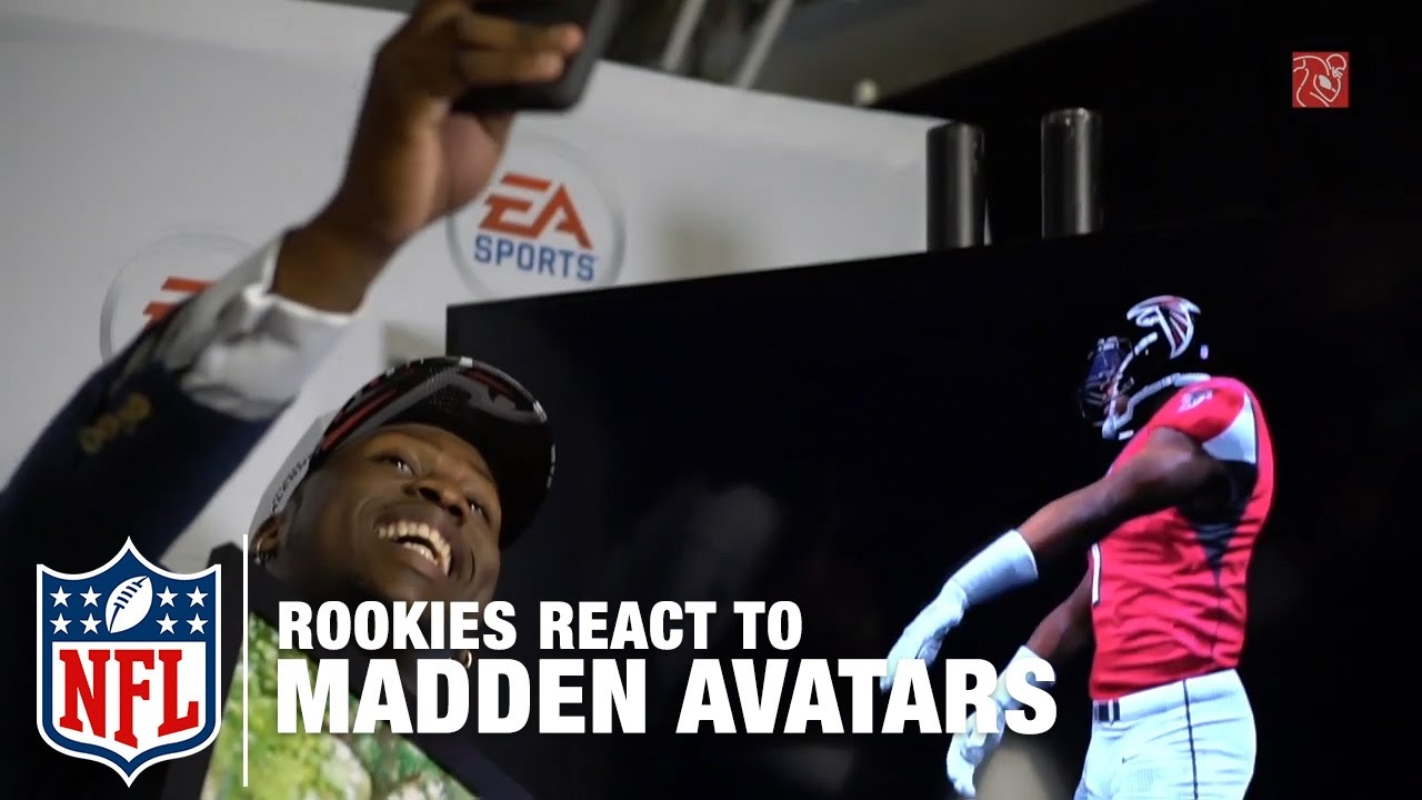 Rookies React to Their Madden Avatars | NFL - YouTube