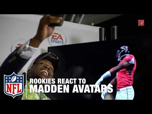 Rookies React to Their Madden Avatars | NFL