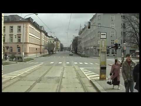 OLOMOUC, Czech Rep, Tram Line 4 In Driver Cab. Part 2.