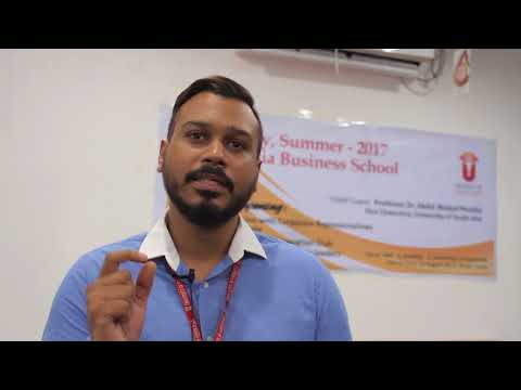 """South Asia Business School : Open Day:""""Students will Learn new concept """" -Mashnun Hassan"""