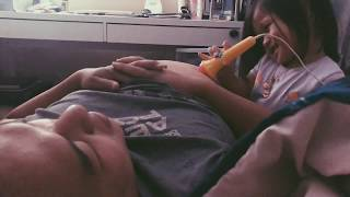 Funny Baby Doctor Chloe ultrasound on Pregnant Daddy