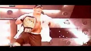 WWE Survivor Series 2005   John Cena vs  Kurt Angle Promo   YouTube4