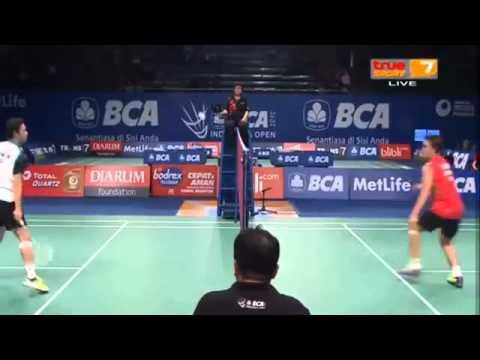 2015 BCA Indonesia Open R16 [MS] Kento MOMOTA vs HU Yun (True Sport 7)  (Sports)