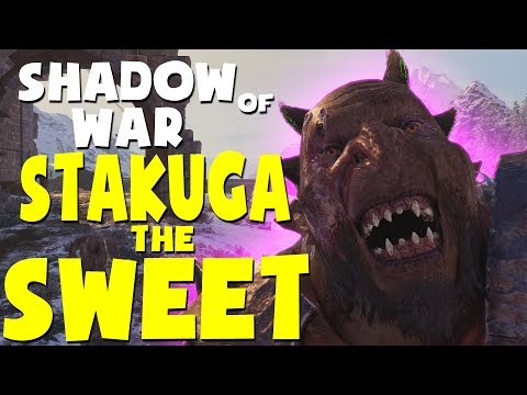 Middle Earth: Shadow of War Funny Moments - STAKUGA THE SWEET |