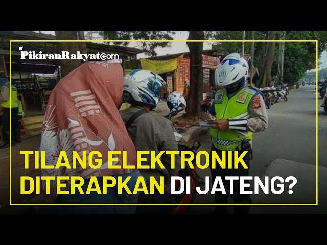 Tiga Kota di Jawa Tengah Siap Terapkan Tilang Elektronik Mulai Februari 2021, Salah Satunya di Solo