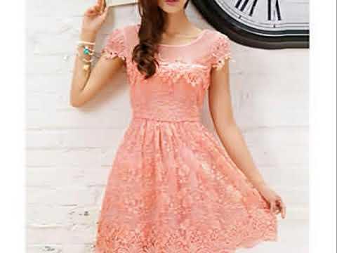 Moda de vestidos cortos casuales
