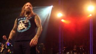 Devildriver - Head on to heartache + Hold back the day LIVE 2014 in Stockholm