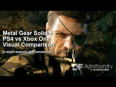 Сравнение качества графики и частоты FPS игры Metal Gear Solid 5: The Phantom Pain на Xbox One и Playstation 4