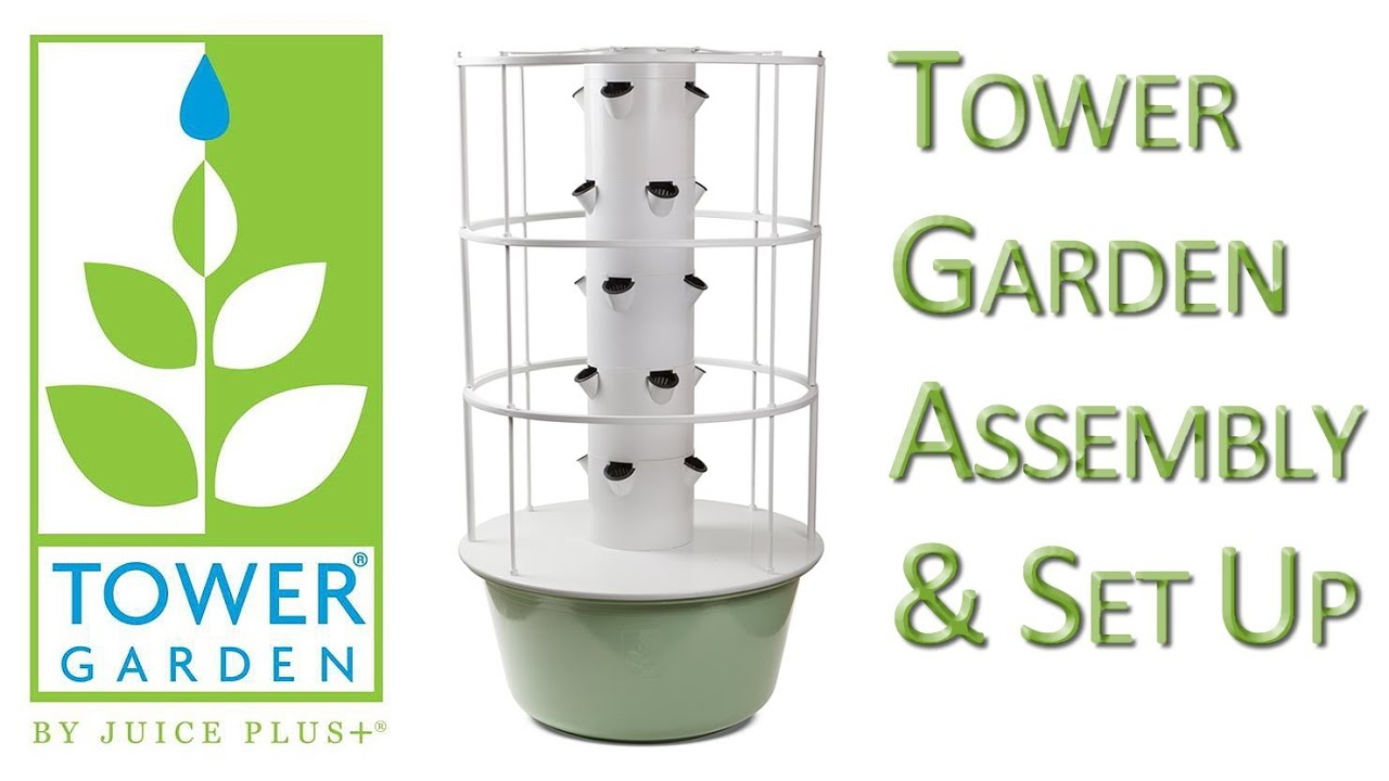 Tower Garden Assembly YouTube
