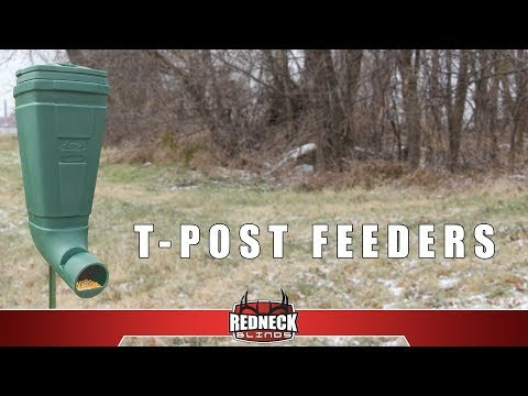 The Redneck T-Post Feeder Introduction