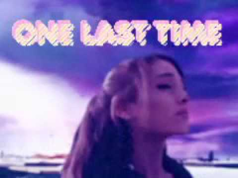 Ariana Grande - One Last Time (1985 Version) VHS Video